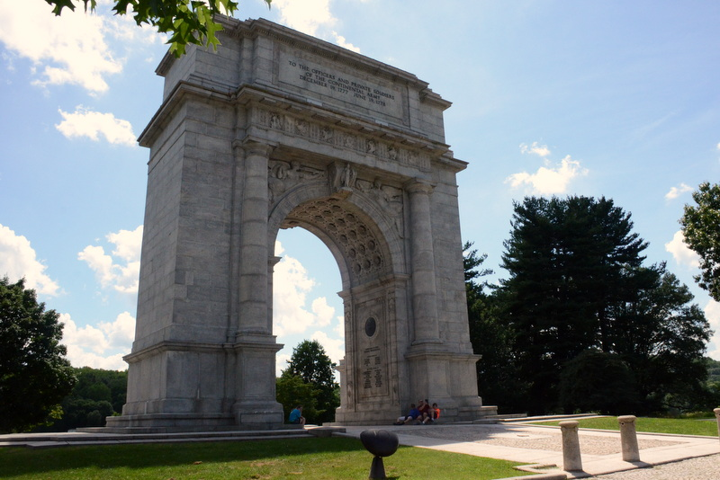 National Memorial Arch Whimsey Pie