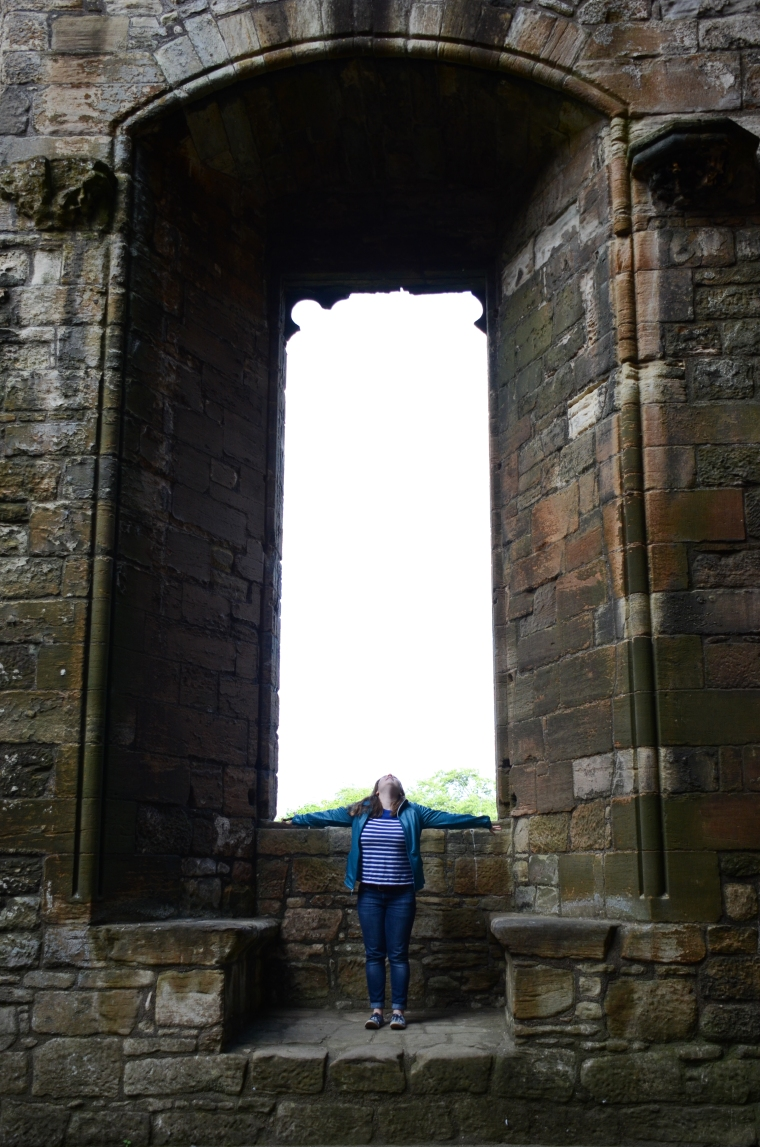 Window of the Great Hall, Linlithgow Palace